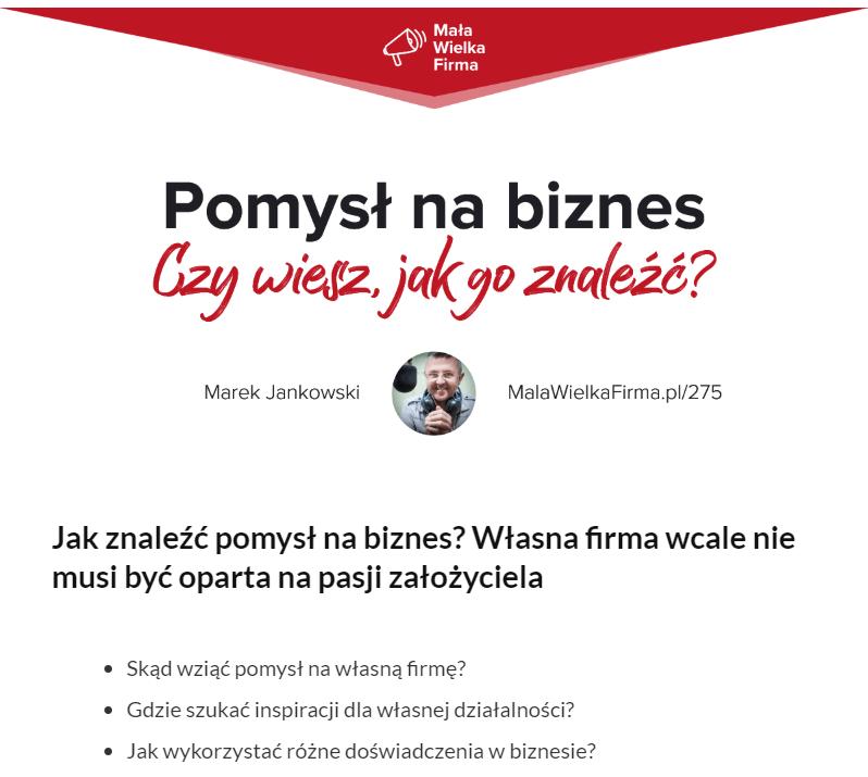 Mała Wielka Firma_podcast_odcinek_275
